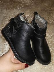 Carter&acutes нарядные полуботинки 17, 7 см стелька, слегка утеплены, новые