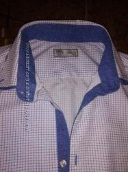 Стильная приталенная рубашка