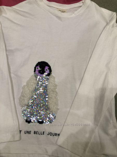 Zara, Benetton, Sisley футболочки, майки , блуза
