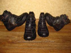 зимние теплые кожа ботинки на цигейке Tita, Buddy Dog в нал 26-31