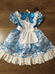 Карнавальный костюм платье Алиса в стране чудес