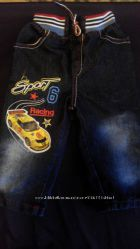 красивые джинсы на мальчика 1, 5- 2 года