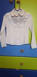 Школьные блузки с длинным рукавом
