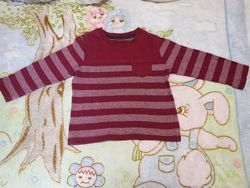 Реглан Matalan Англия р. 86-92 футболка с длинным рукавом