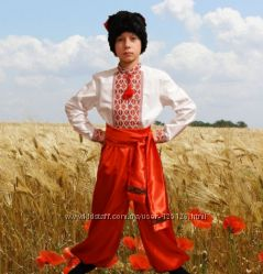 Козак, украинский национальный костюм 9-13лет Костюм на прокат