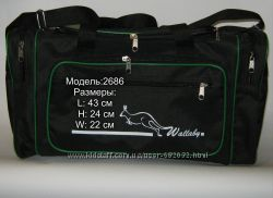 Спортивно-дорожные сумки Wallaby  3050, 3070 и 2686.