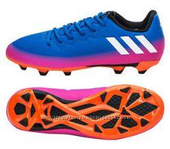 футбольные бутсы и сороконожки Adidas Messi оригинал 2 модели размеры