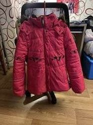 Зимняя куртка на девочку Lenne