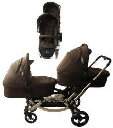 Прогулочная коляска для двойни ABC Design Zoom с аксессуарами Cuba 71311616