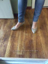 Туфли blink текстиль и кожа