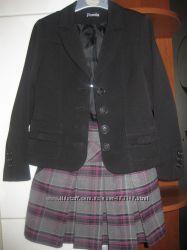 Школьный комплект двойка - юбка, пиджак от Panda kids, знаменитый белорусск