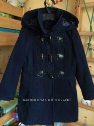 Красивое пальто George 5-6 лет наушники в подарок
