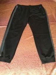 Батальные спортивные брюки BILCEE на манжете ссерым лампасом качественные