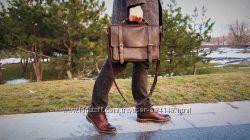 Портфель сумка для ноутбука кожа подарок для мужчин