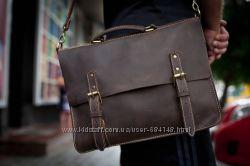 Портфель кожа сумка для мужчин со скрытым замком