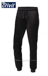 Брюки спортивные джоггеры штаны манжеты 10-12 лет черные, Crivit Германия