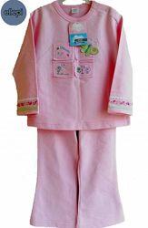 Пижама фирменная детская розовая на 1, 5-2 г 86-92см бренд Ellepi Италия