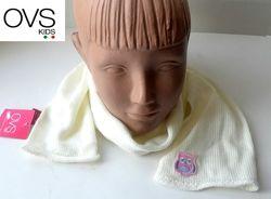 Шарфик шарф детский белый для девочки OVS kids Италия