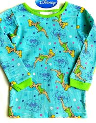 Пижама детская реглан фея Тинкер Бэлл для девочки 1-2г 86-92 см Дисней США