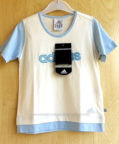 Футболка детская на 2-4 года 92-104 см Адидас Adidas Франция