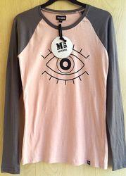 Реглан, лонгслив, водолазка, футболка XS, S подростковый женский Maybee США