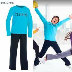 Теплый детский спортивный костюм для мальчика 6 л 115-124 см Domyos Англия
