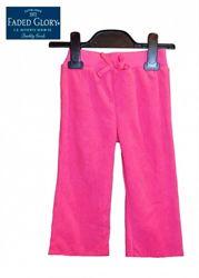 Штаны пижама на 2г рост 86-92см флис теплые детские Faded Glory США розовые