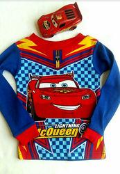 Реглан детский футболка на 1-2 г  Тачки Макквин McQueen бренд Disney США