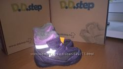 р. 24-29 D. D. Step Зимние водонепроницаемые ботинки. Мембрана.