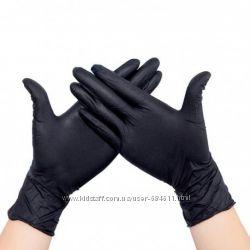 Перчатки нитриловые для ногтевого сервиса