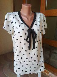Красивая блузка 50-52