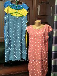 Классные платья, ткань Лен, вискоза.