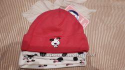 Новый набор из 3 шапочек GERBER из Америки для новорожденной малышки