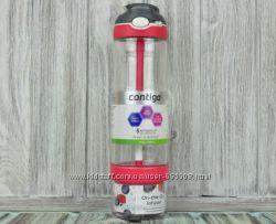 Бутылка для воды Contigo Ashland Infuser с отсеком для фруктов, мяты