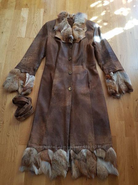 Кожаное пальто Испания XS - S