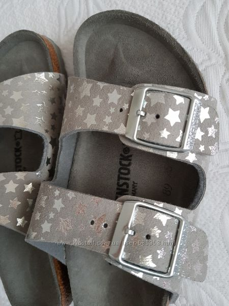 Birkenstock сандалии для девочки 30 р. оригинал