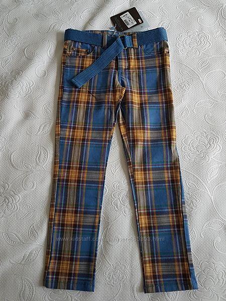Стильные осенние штаны на 8 лет