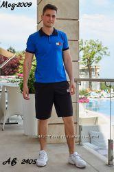 459949cb54a8 Мужской летний костюм, шорты и футболка, 470 грн. Мужская спортивная ...