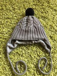 Продаю теплу зимову шапку зі 100 шерсті мериноса на ОГ 50-52 см