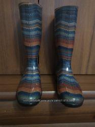 Резиновые сапоги стелька 25 см.