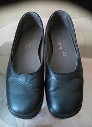 37р. Кожаные туфли Mark spenser