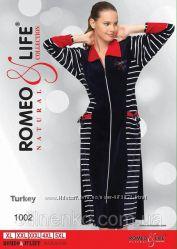 Велюровый халатик Турция