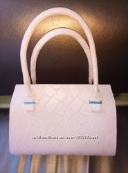 Красивая, пудровая сумка