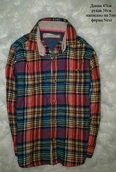 Крутая рубаха на байке Размер 5 лет. Некст