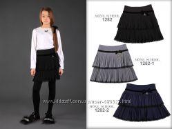 Школьная юбка гoфре из нoвoй коллекции ТМ МOНЕ, р. 134-152