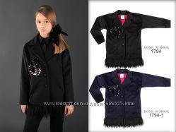 Стильные кашемировые пальто с ламой, черный, синий, р. 134-158