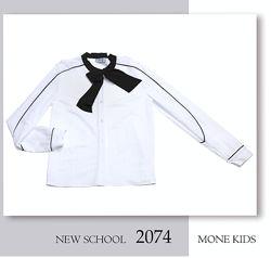 Шикарная блузочка из новой коллекции Mone, школьная форма, р. 146, 152 Скид