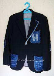 Мужской, подростковый дизайнерский пиджак размер 38