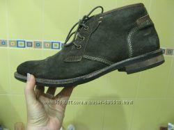 Ботинки Limited Edition 46 замша и Marks Spencer 42