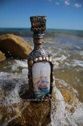 сувенир  бутылка , графин 05Л